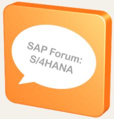 Forum S4HANA