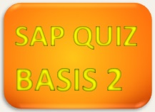 SAP Quiz BASIS 2
