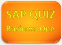 SAP Quiz Business One