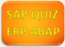 SAP Quiz ERP ABAP
