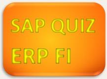 SAP Quiz ERP FI