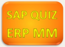 SAP Quiz ERP MM