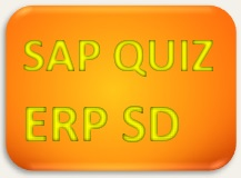 SAP Quiz ERP SD