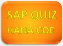 SAP Quiz HANA COE