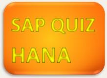 SAP Quiz HANA