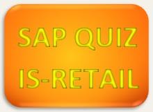 SAP Quiz IS Retail