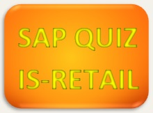 SAP Quiz IS Retail