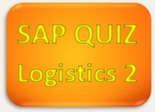SAP Quiz Logistics 2