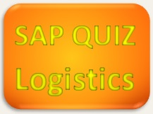SAP Quiz Logistics