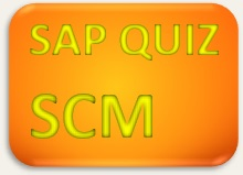 SAP Quiz SCM