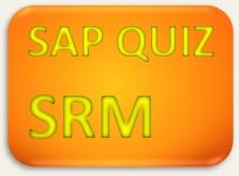 SAP Quiz SRM