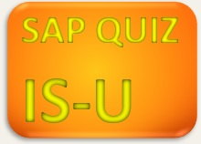 SAP Quiz IS-U